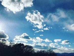 雲の具合が大好きです。